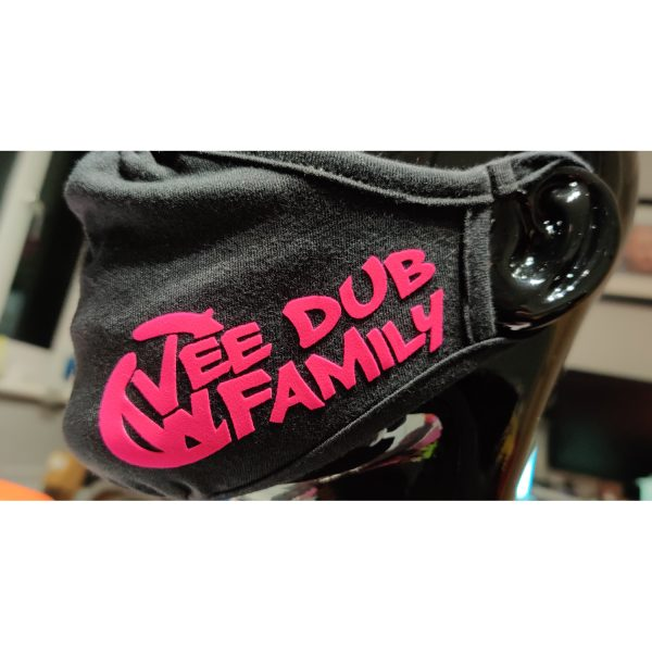 Vee Dub Family Graffiti Face Mask